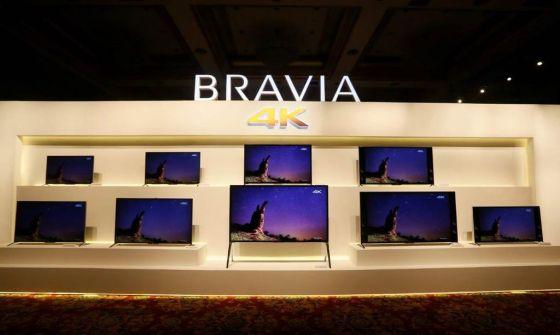 索尼发布三大系列4K电视:增强手机电视互动