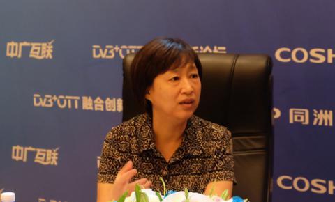 王效杰:广电数字化转换与目标还有差距