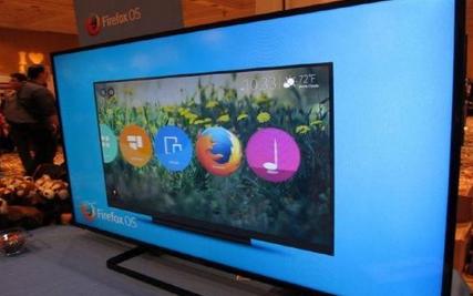 松下发布Firefox OS智能电视 包含曲面机型