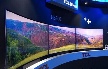 TCL发布曲面电视新品 与<font color=