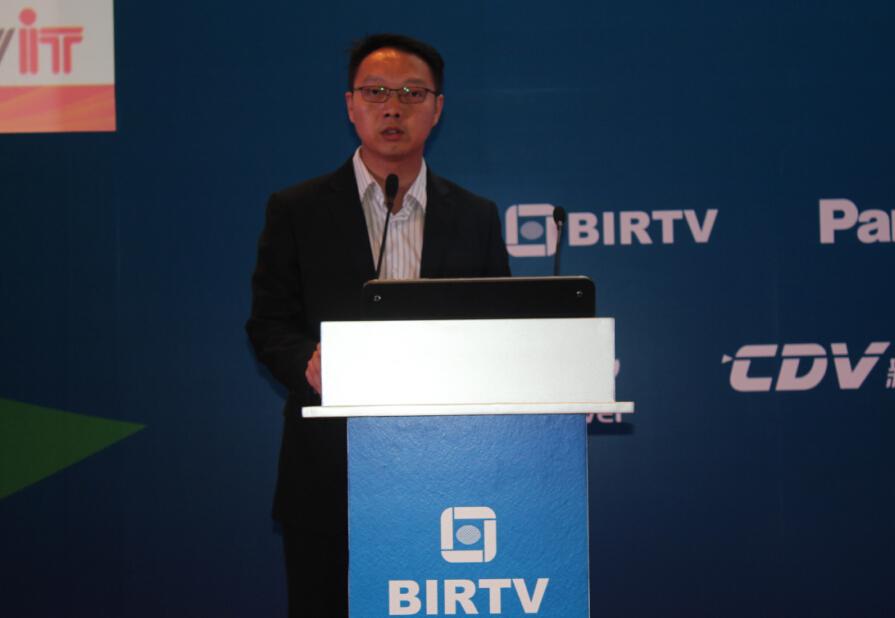 """【BIRTV2015】张建军:中视广信媒体云平台——""""制作工厂""""助推器"""