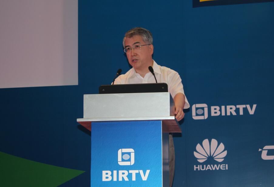 【BIRTV2015】喇培康:实现中国电影从电影大国到电影强国的技术转变