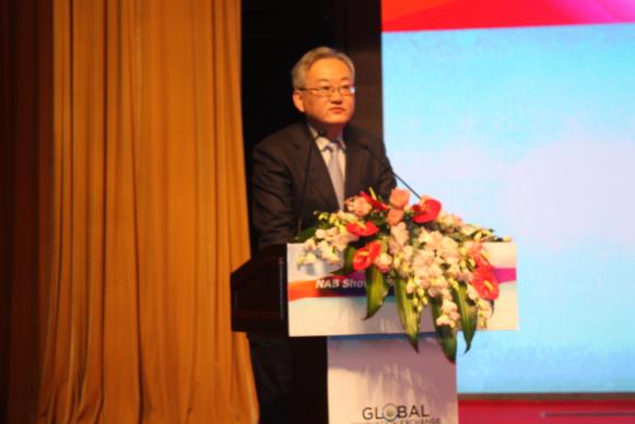 上海文广局副局长王玮在NAB Show GIX-上海全球跨媒体创新峰会的致辞