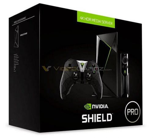 4K+HDR:Nvidia SHIELD PRO电视游戏盒子提前曝光