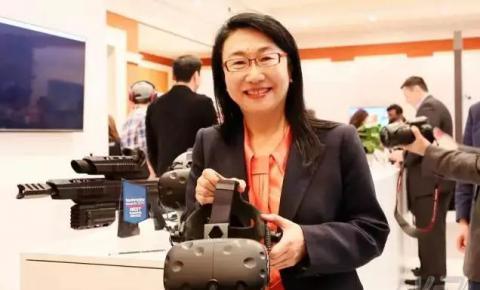 王雪红的VR战略:HTC <font color=