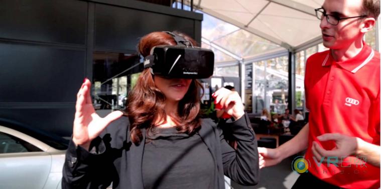 奥迪推出VR汽车展厅 用户能自由定制汽车