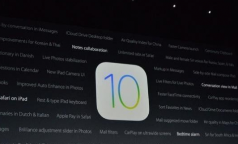 iOS 10正式推送 <font color=