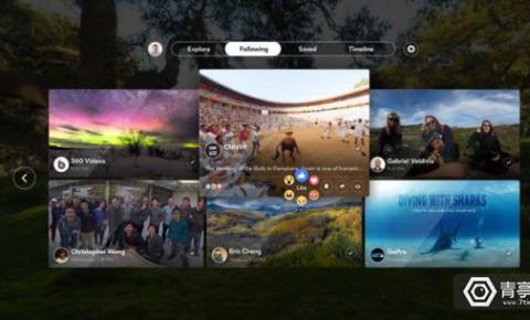 "Facebook发布首款VR应用,""VR界快手""将来临?"