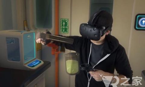 做实验不再危险 VR助力化学<font color=