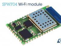意法半导体(ST)云兼容Wi-Fi模块简化并保护IoT和M2M应用