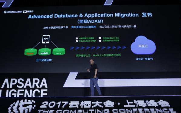 阿里云推出数据库迁移服务ADAM:Oracle数据库上云只需4步