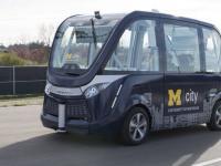 法国无人驾驶巴士今秋开进美国密歇根大学校园