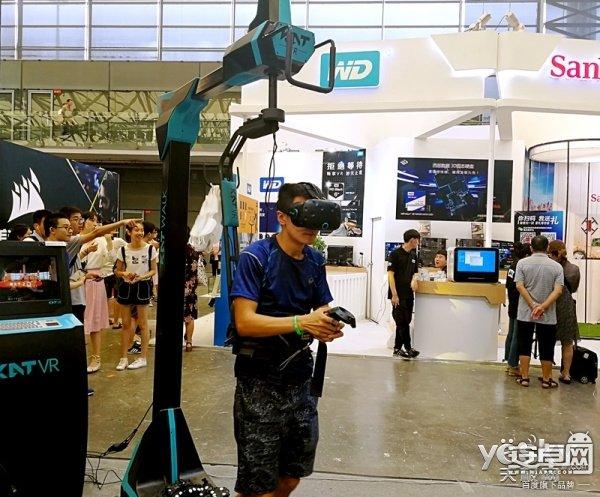 回顾CJ2017:VR展台锐减 火爆程度却异常