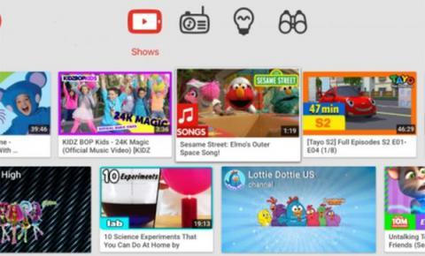 Android TV版 YouTube Kids迎来正式发布!