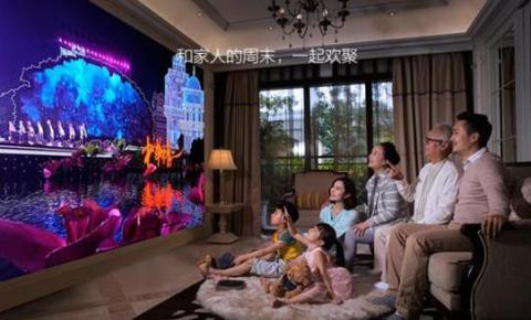 无屏电视将可能改变2017年投影市场大格局