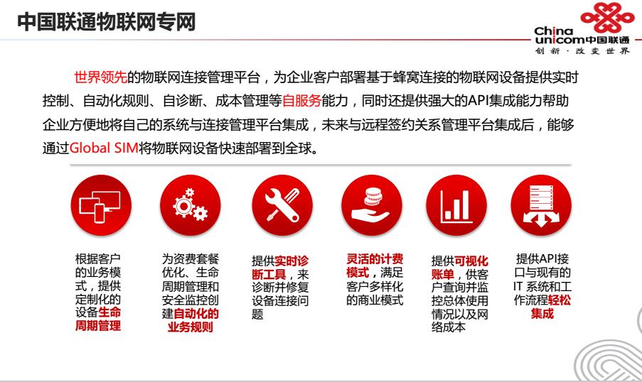 混改后第一枪打在物联网 中国联通能<font color=