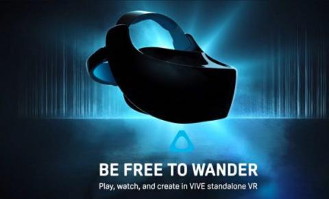 HTC的独立VR头显将有可能命名为Vive Focus