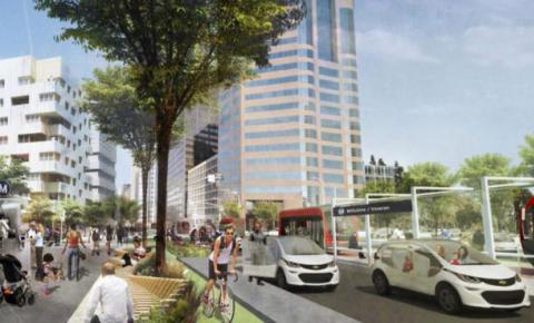 Lyft:自动驾驶时代城市只需保留单向三车道