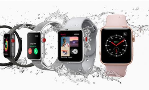 苹果承认Apple Watch Series 3有<font color=