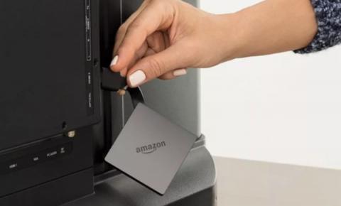 亚马逊推新款Fire TV:身材娇小 支持4K/<font color=