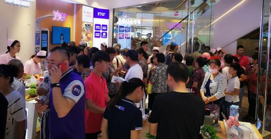 乐语通讯徐州三胞国际广场店火爆开业