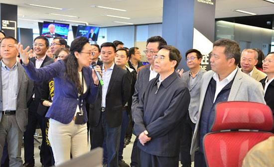 聂辰席出席CGTN融媒中心启动仪式