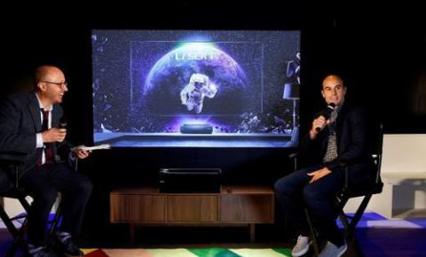 跨界营销玩出新境界—— 海信4K激光电视在美国顶级音响店开售