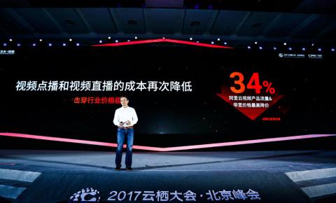 视频服务降价34%  基础设施降价25%  阿里云北京云栖大会再次释放技术<font color=