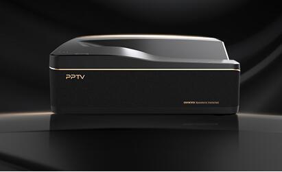 百吋激光电视震撼发布,PPTV帝国之路稳步前行