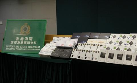 世界杯临近 香港海关打击售卖非法机顶盒等违法活动