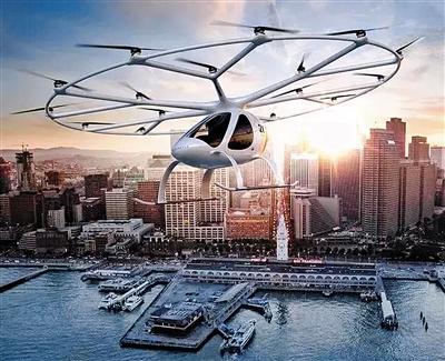 自动驾驶空中出租车 打造未来空中运输网络