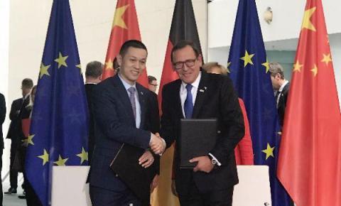 蔚来董事长:自动驾驶技术成中德汽车合作重心