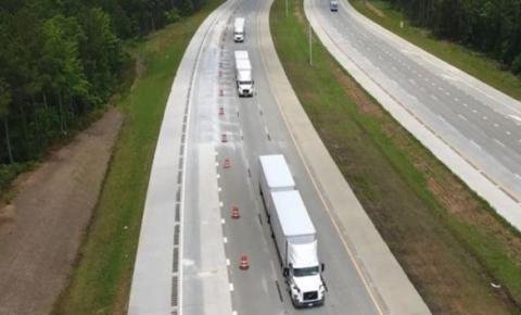 瑞典公司展示纯电动自动驾驶卡车 可远程遥控