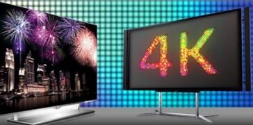 4K电视推动平板电视市场发展