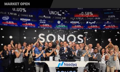 智能音箱Sonos上市首日市值暴涨至24亿美元