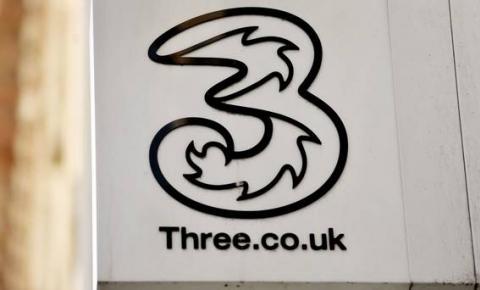 传统供应商出局:3英国选择华为部署5G网络