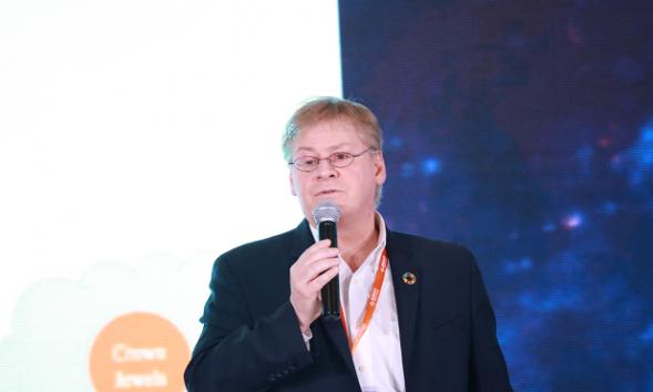 瑞卫士魏卡尔:区块链手机的安全加密很重要