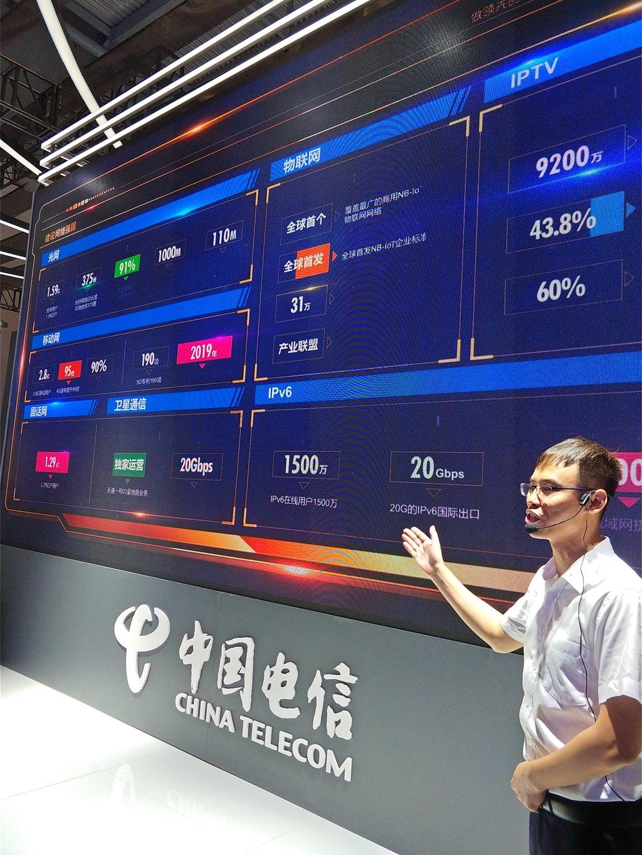 """7大版块43项内容 全面展现中国电信""""智慧力量"""""""