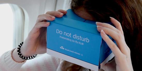 荷兰专家研究发现 飞机上佩戴VR设备有潜在危险