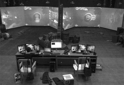 VR射击系统用于军训 不去靶场也能体验打靶归来