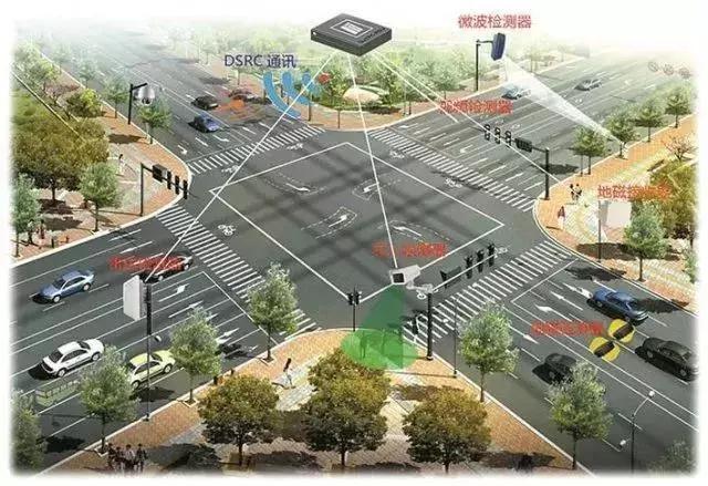 深圳首条智慧道路七大黑科技:智慧路灯用处多
