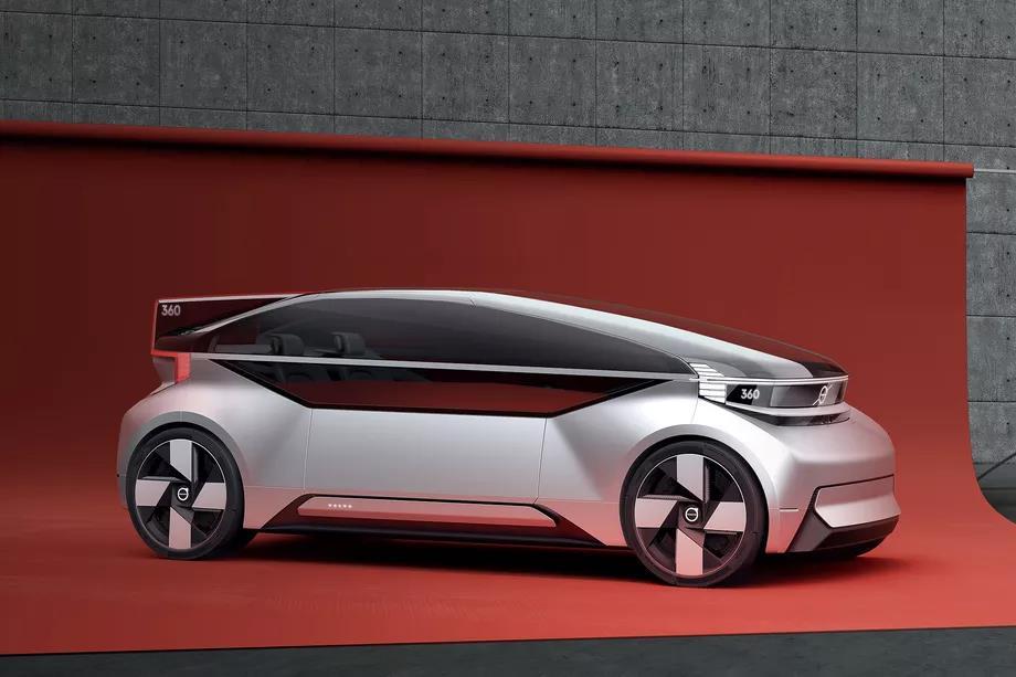 沃尔沃推出全新360c概念车
