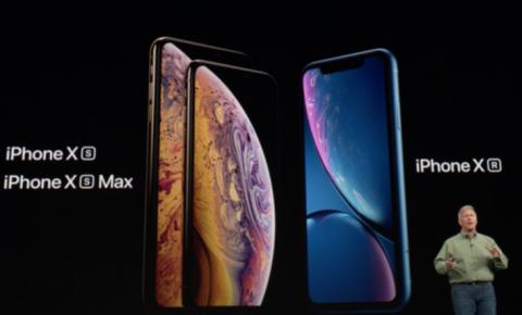 苹果X系列新品手机发布 <font color=