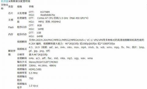 拱北政企客户智能三合一<font color=red>机顶盒</font>(带ETV功能)设备采购项目
