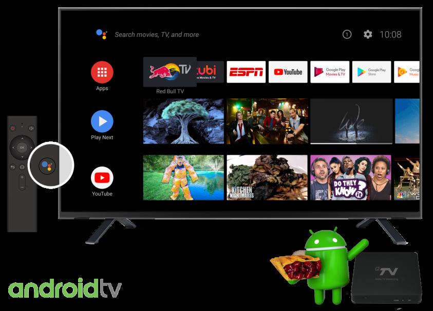 华曦达发布Android TV 9.0 Pie 4K<font color=