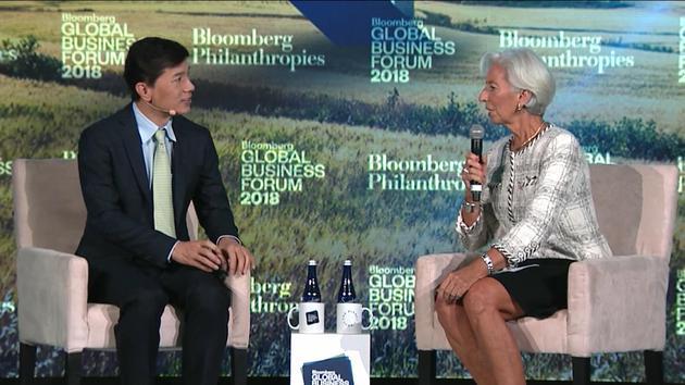 李彦宏对话IMF总裁谈AI:互联网是开胃菜,人工智能是主菜