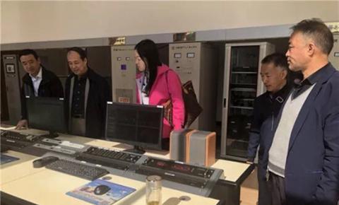 甘肃省新闻广电广播安全保障工作检查组在定西广播转播台检查指导工作