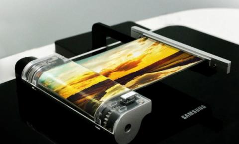 三星:可折叠屏幕手机和<font color=