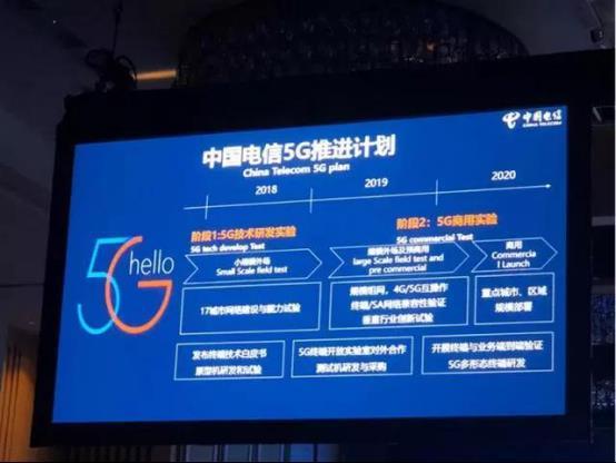 5G网络明年商用:<font color=