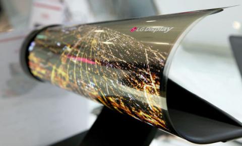 """LG将在2019年发布""""可卷曲""""OLED电视屏幕"""